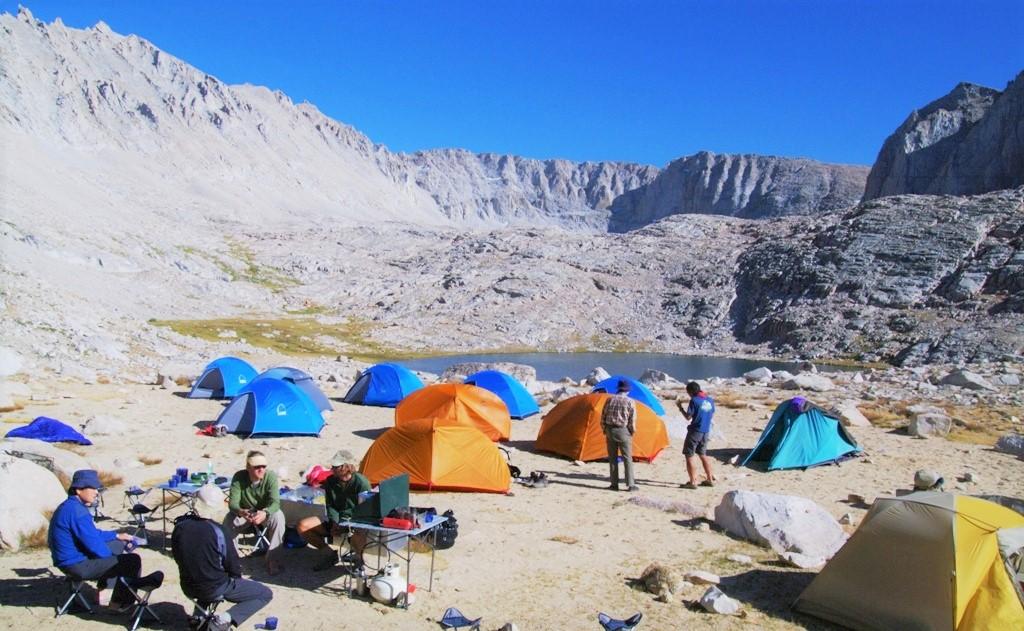 キャンプサイトでのひとときも貴重な体験