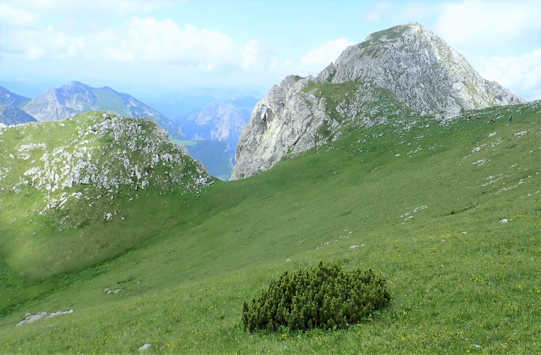 稜線からのマグリッチ峰(6日目)