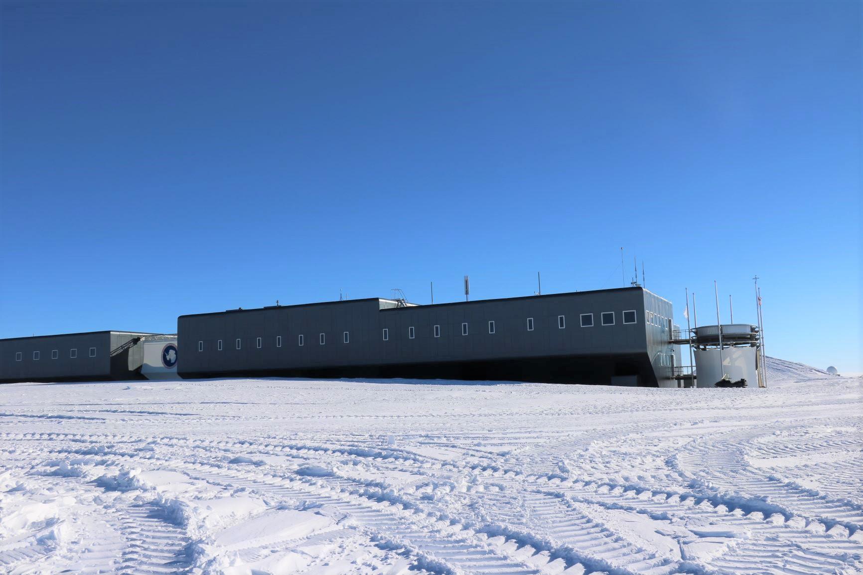 南極点に位置するアムンセン・スコット基地