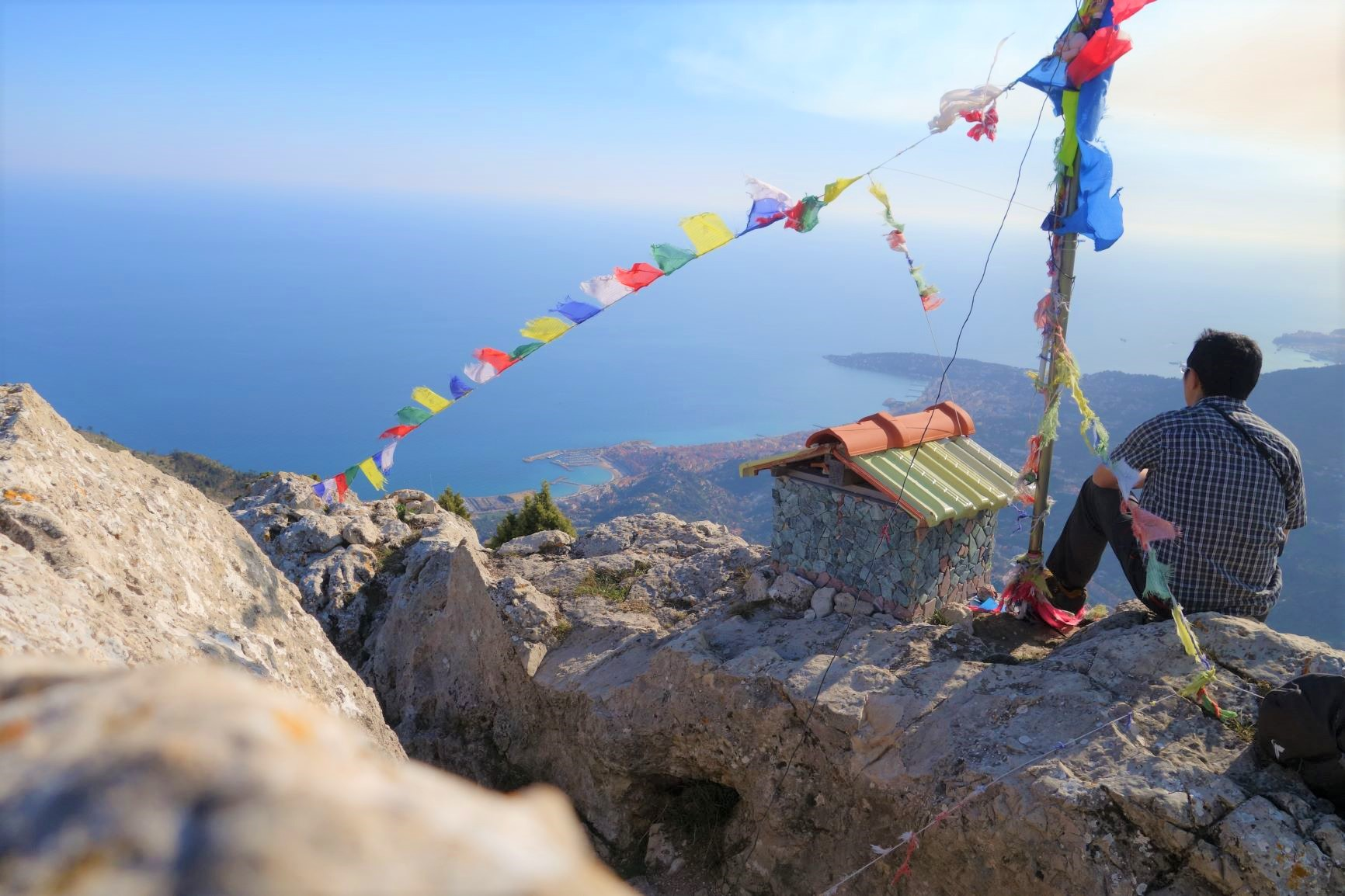 オルメ山より地中海を望む(10日目)
