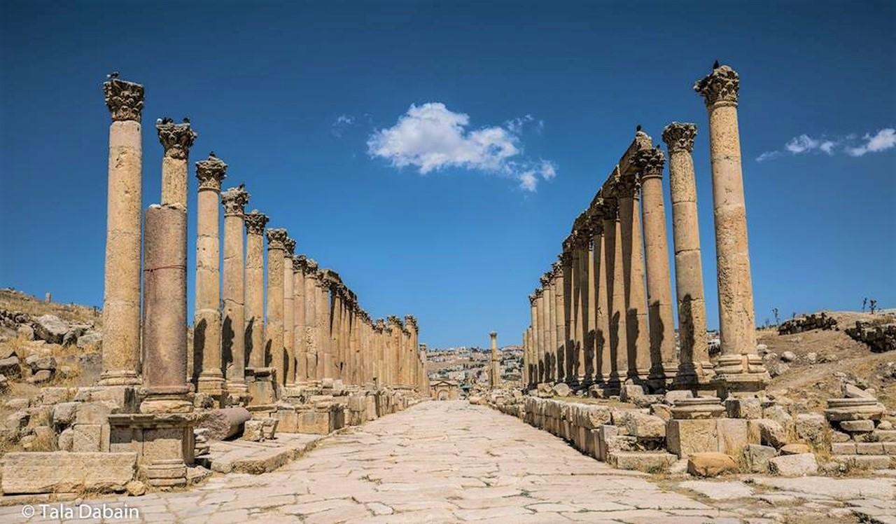 ジェラシュのローマ都市遺跡(3日目)