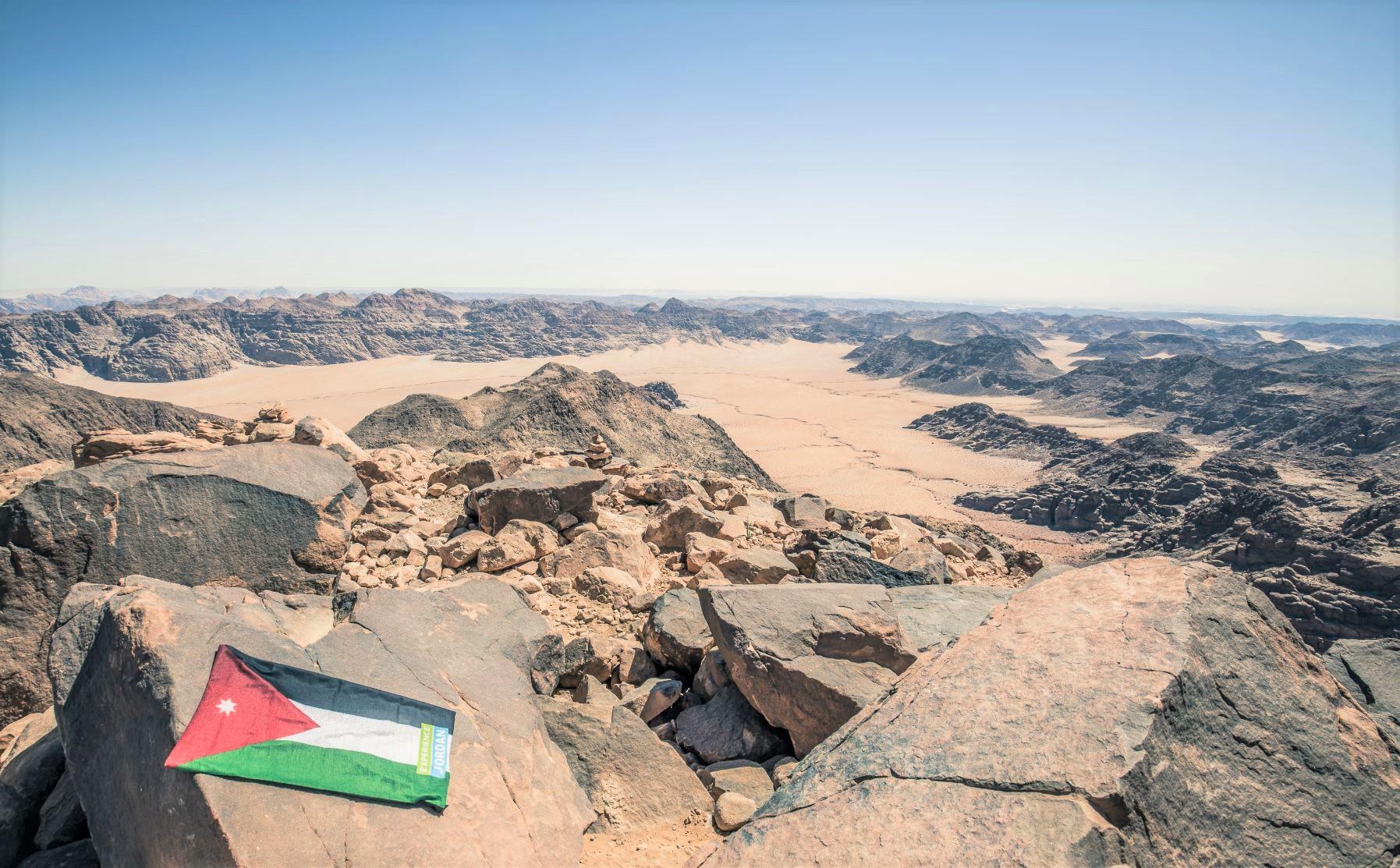 ヨルダン最高峰からの眺望(7日目)