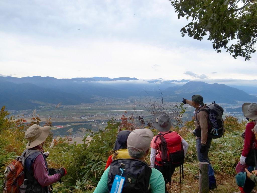 富倉峠からの眺め