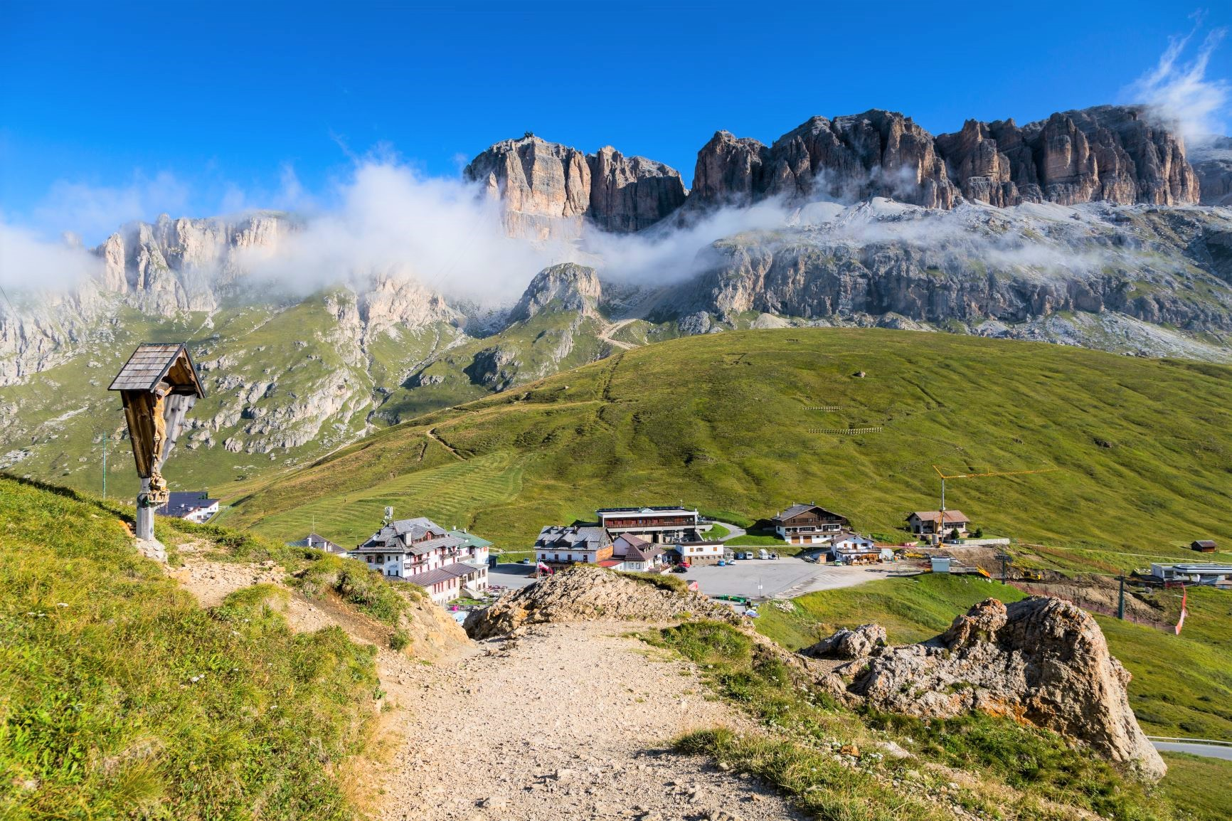 ポルドイ峠とセッラ山塊