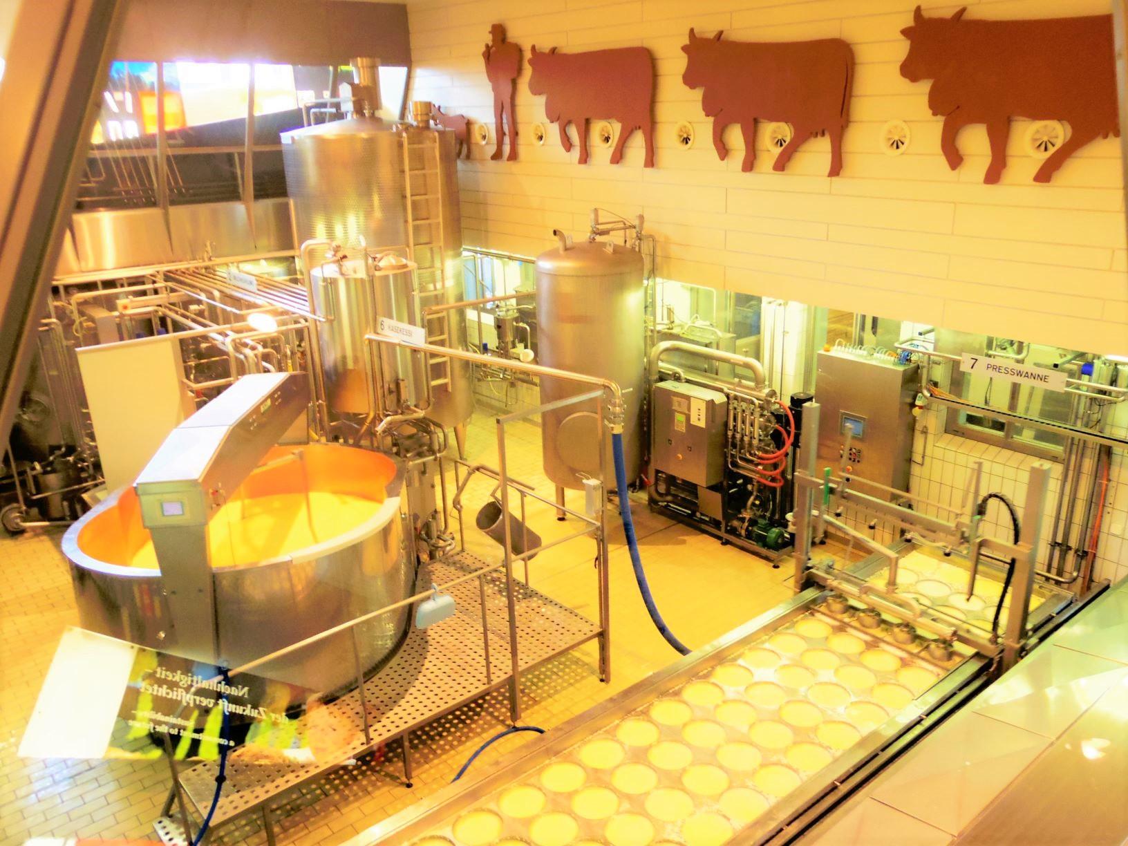 アッペンツェル・チーズ工場(2日目)