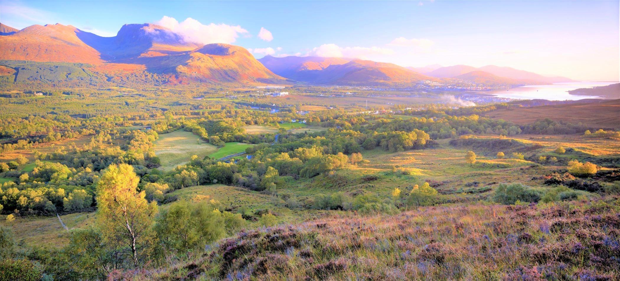 黄葉が美しいフォートウィリアムと英国最高峰ベンネヴィス(1,344m)(5日目)