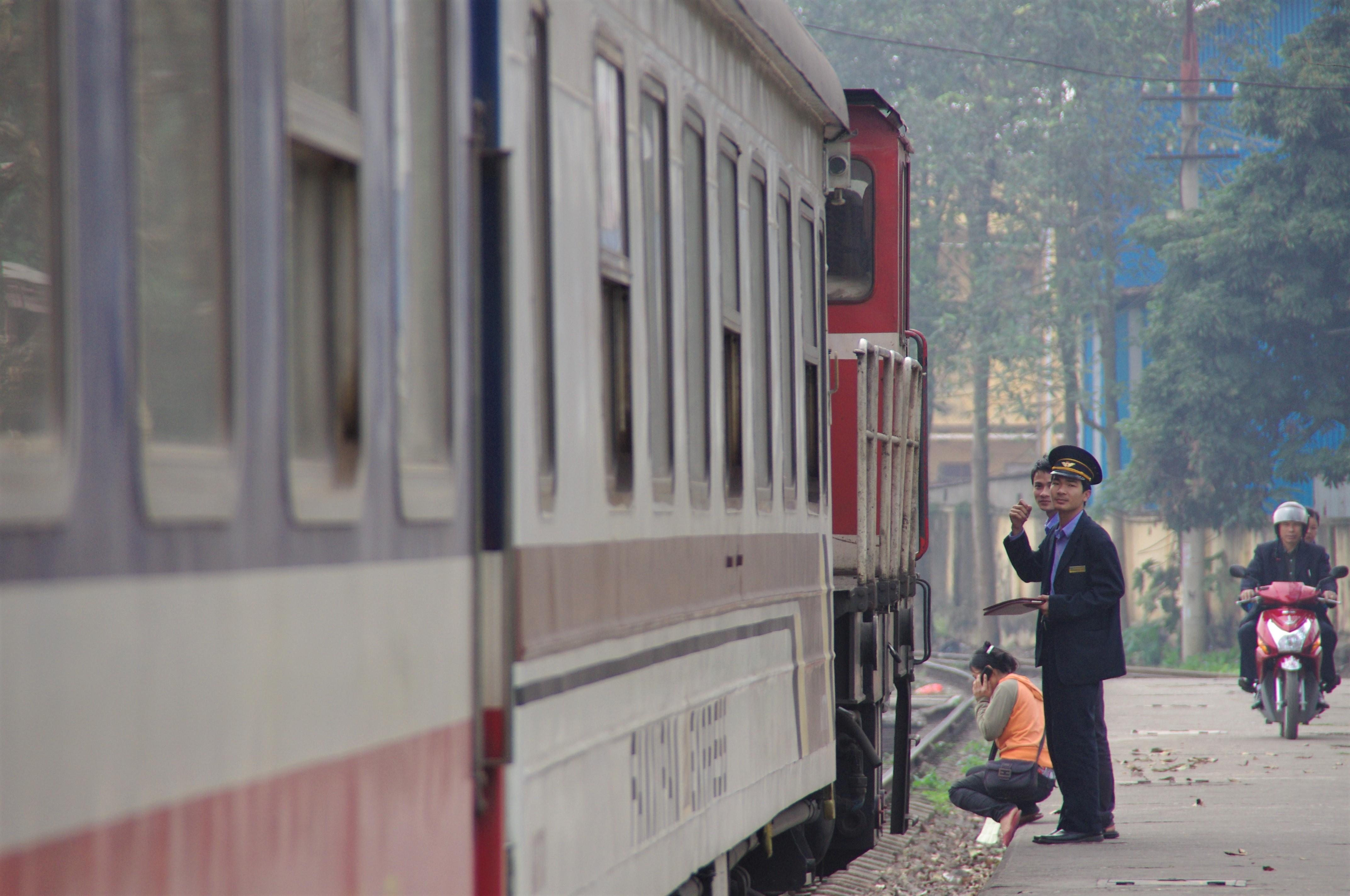 寝台列車の乗車も旅の楽しみ(1日目)