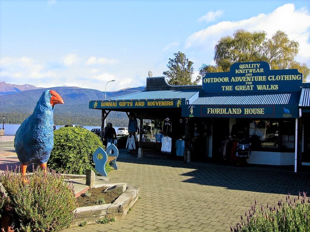 フィヨルドランド国立公園の玄関口、テ・アナウに3連泊