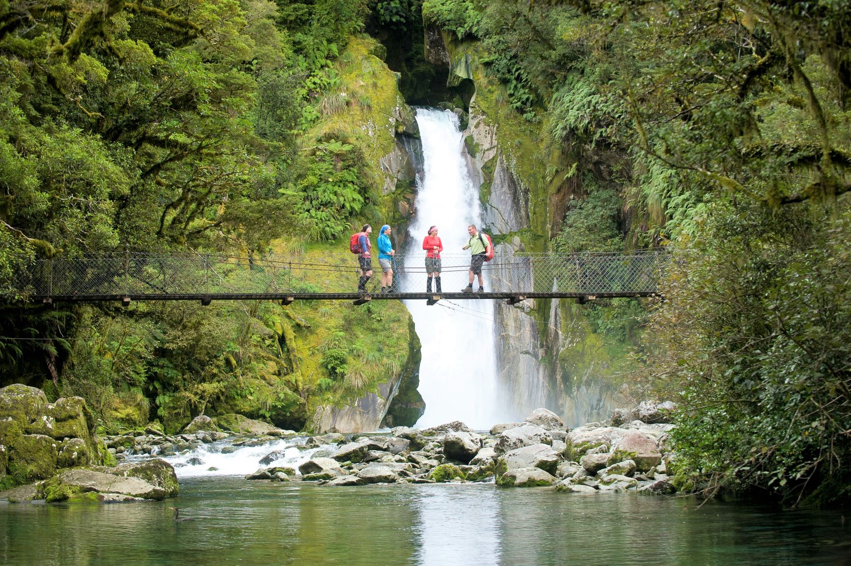 ジャイアント・ゲート滝まで往復する(3日目)