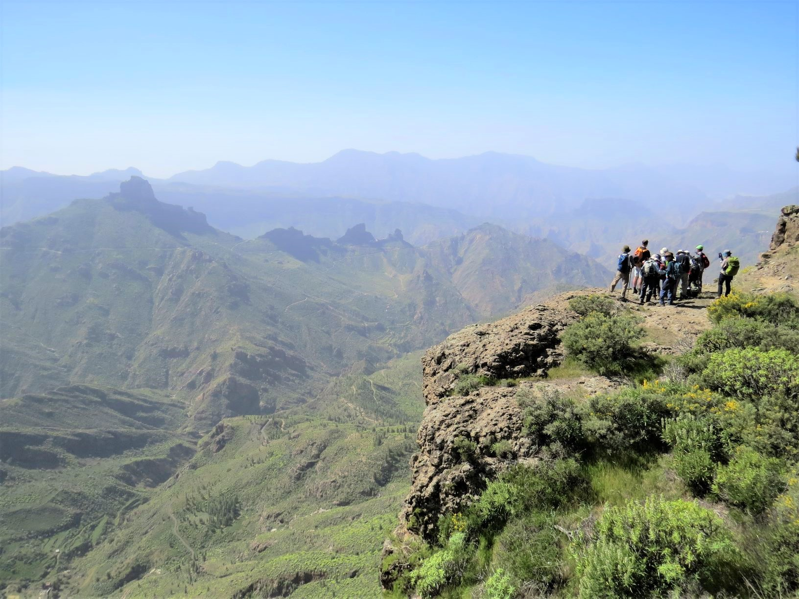 グラン・カナリア島をハイキング、リスコ・カイドとグラン・カナリア島の聖なる山々の文化的景観は2019年世界遺産に登録されました。