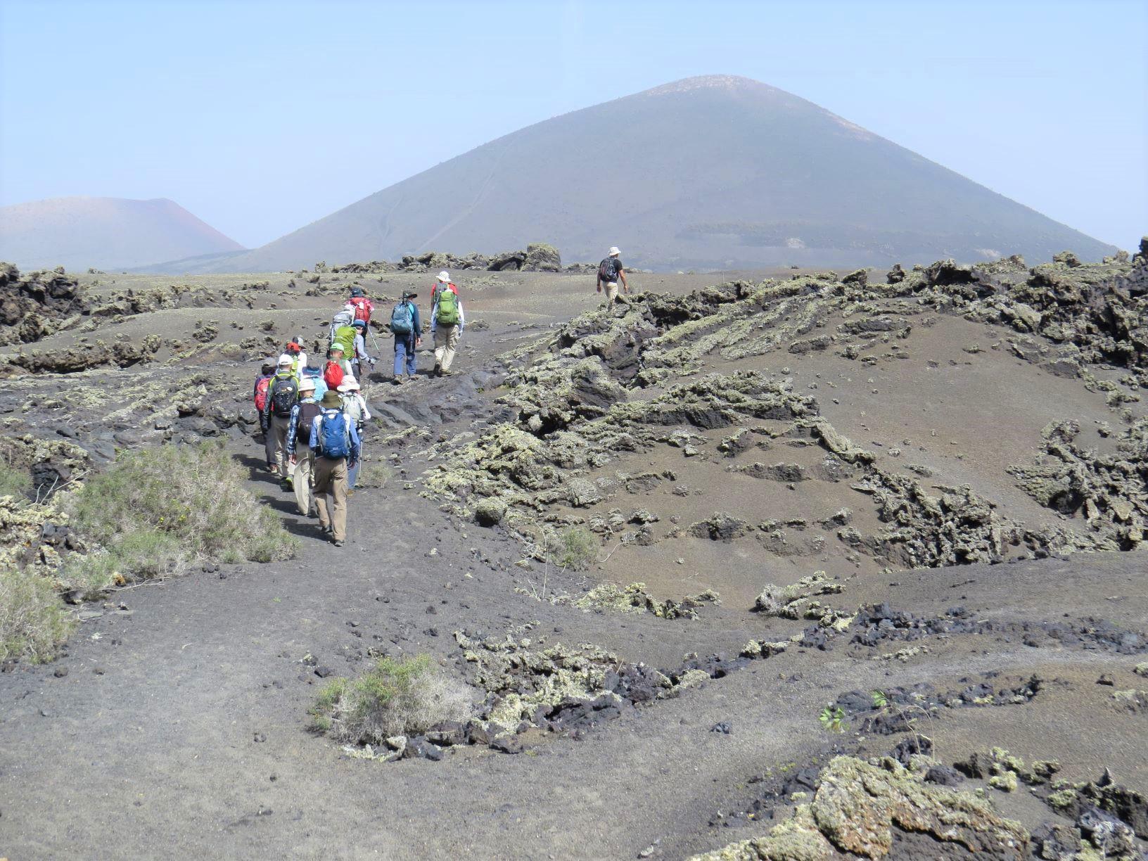 火山灰の大地が広がるランサローテ島(7日目)