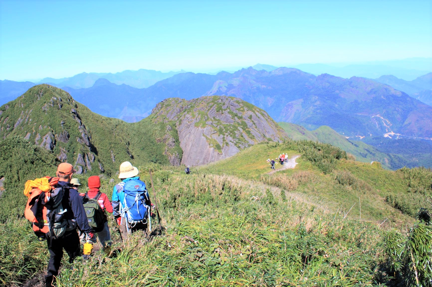 奥深い登山を楽しむことができるファンシーパン(4日目)