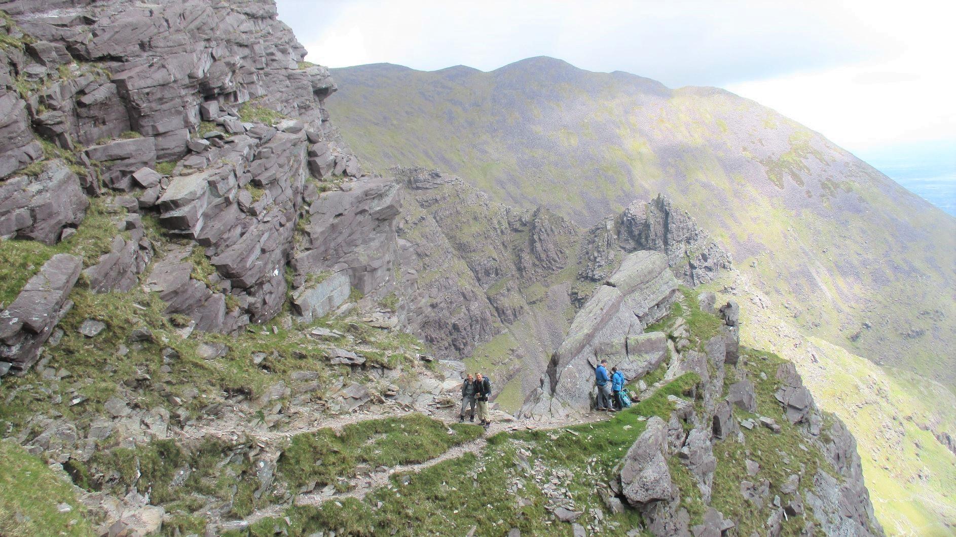 アイルランド最高峰キャラントゥーヒルへと登る(7日目)