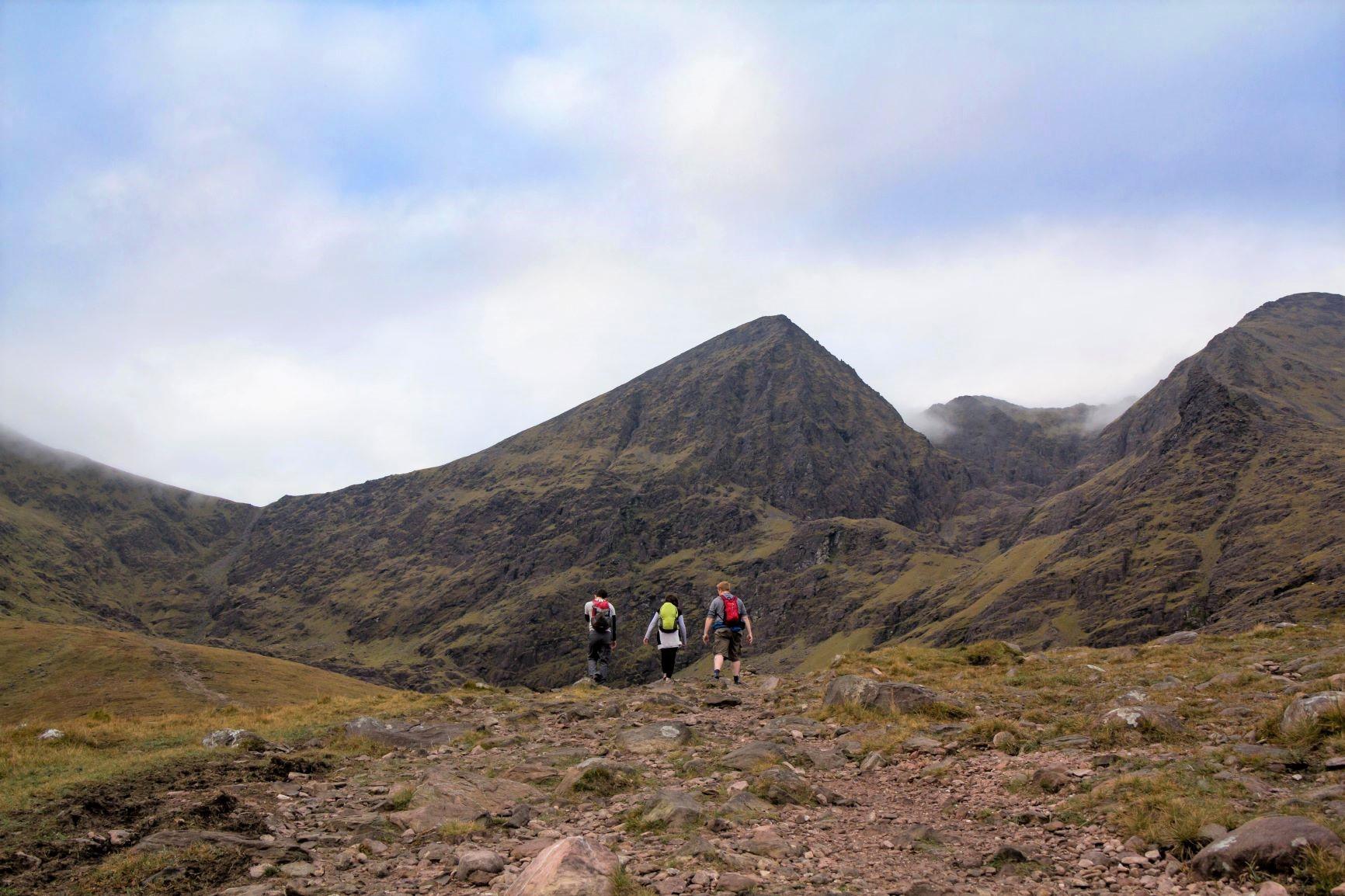 アイルランド最高峰キャラントゥーヒルへ向けて(7日目)