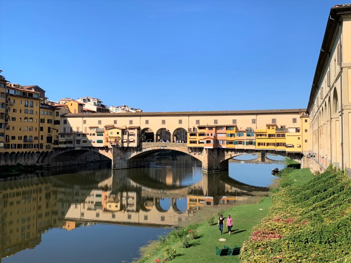 フィレンツェのヴェッキオ橋(2日目)
