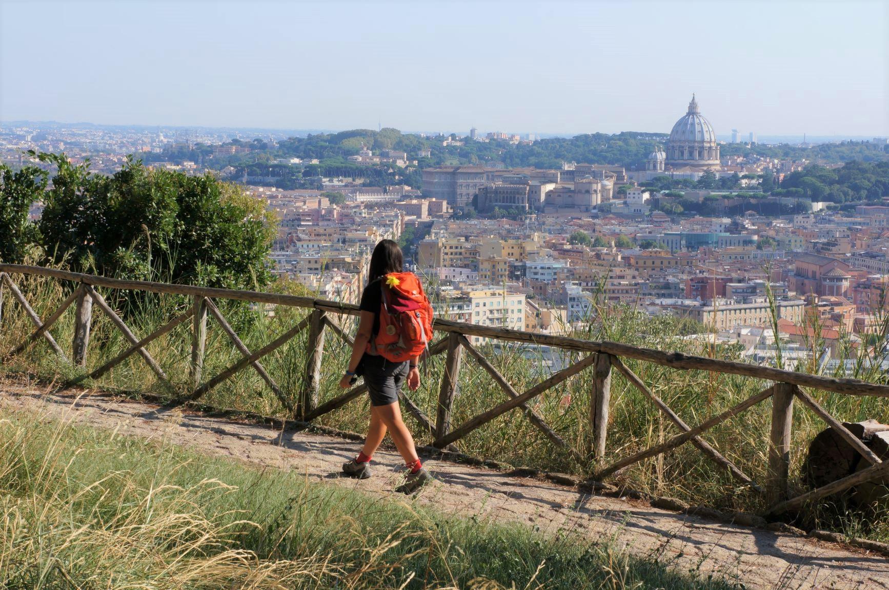 ローマへ向けて歩く(7日目)