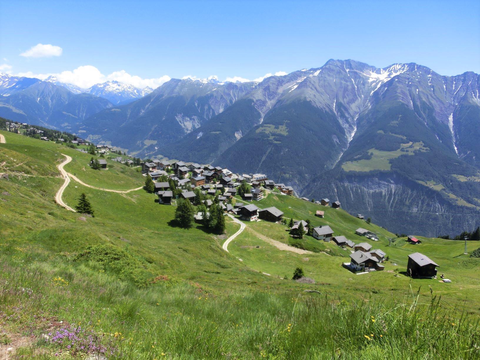 ベットマーアルプは爽やかな高原に位置する(5、6日目)