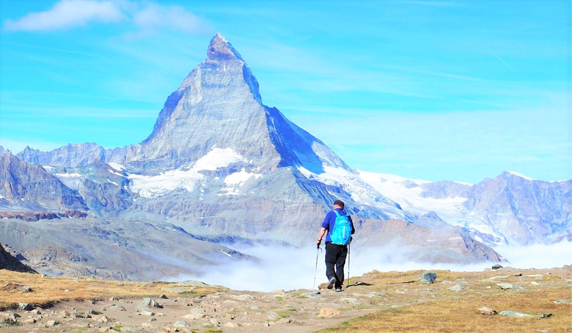 秋は晴天率が高くハイキング向きの季節(7日目)