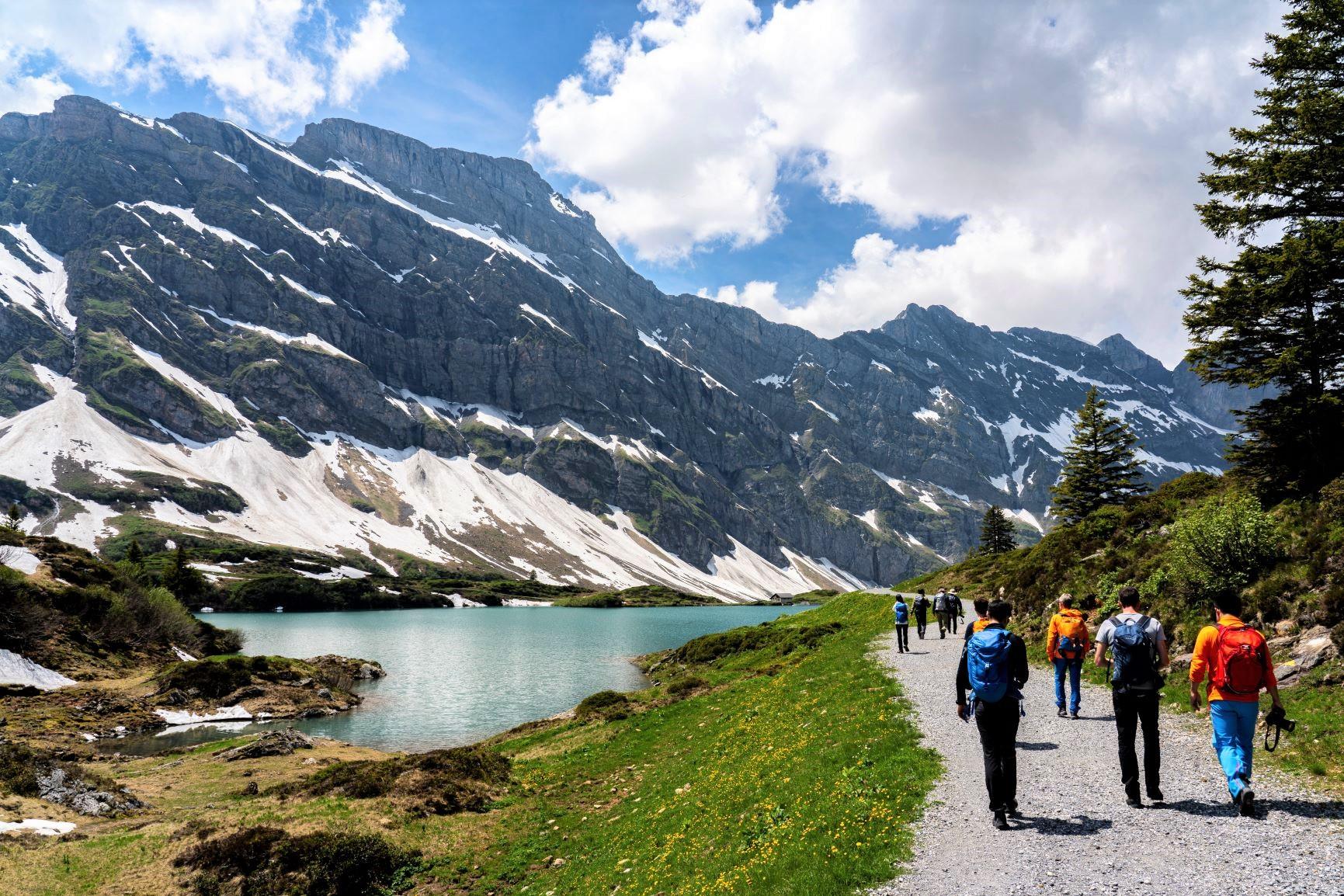 山上湖トゥルブゼー周辺を歩く(2日目)