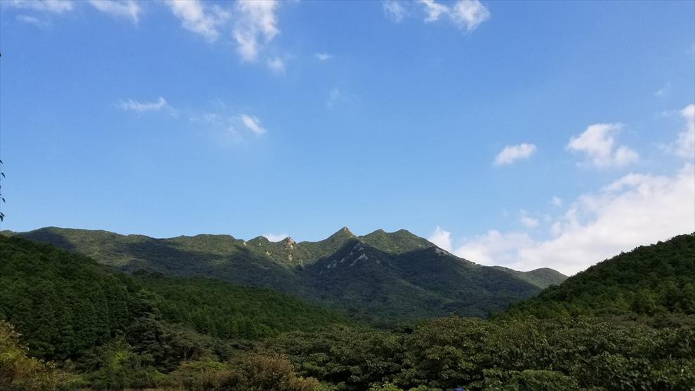 美しい山容の七ツ岳