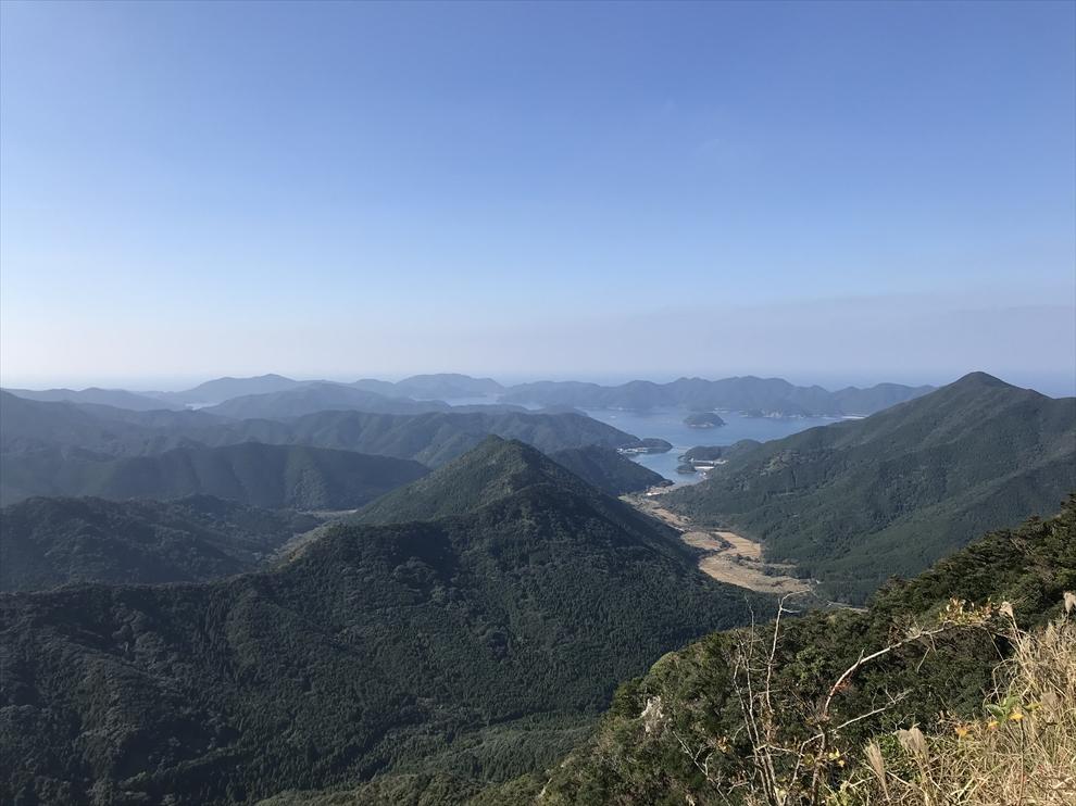 七ツ岳稜線からの展望