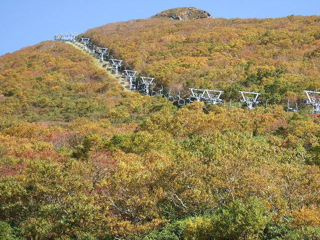 秋の岩木山