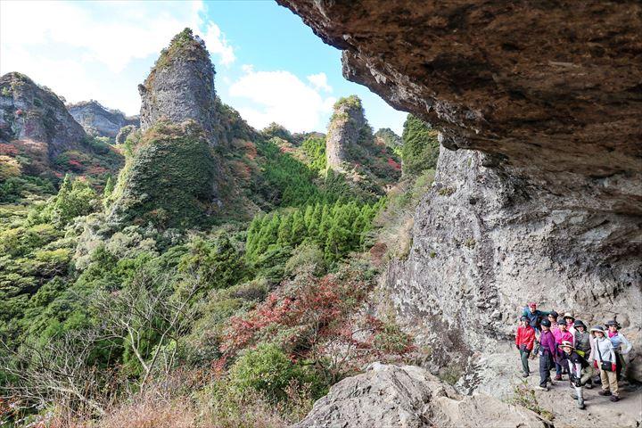 大不動岩屋からの絶景