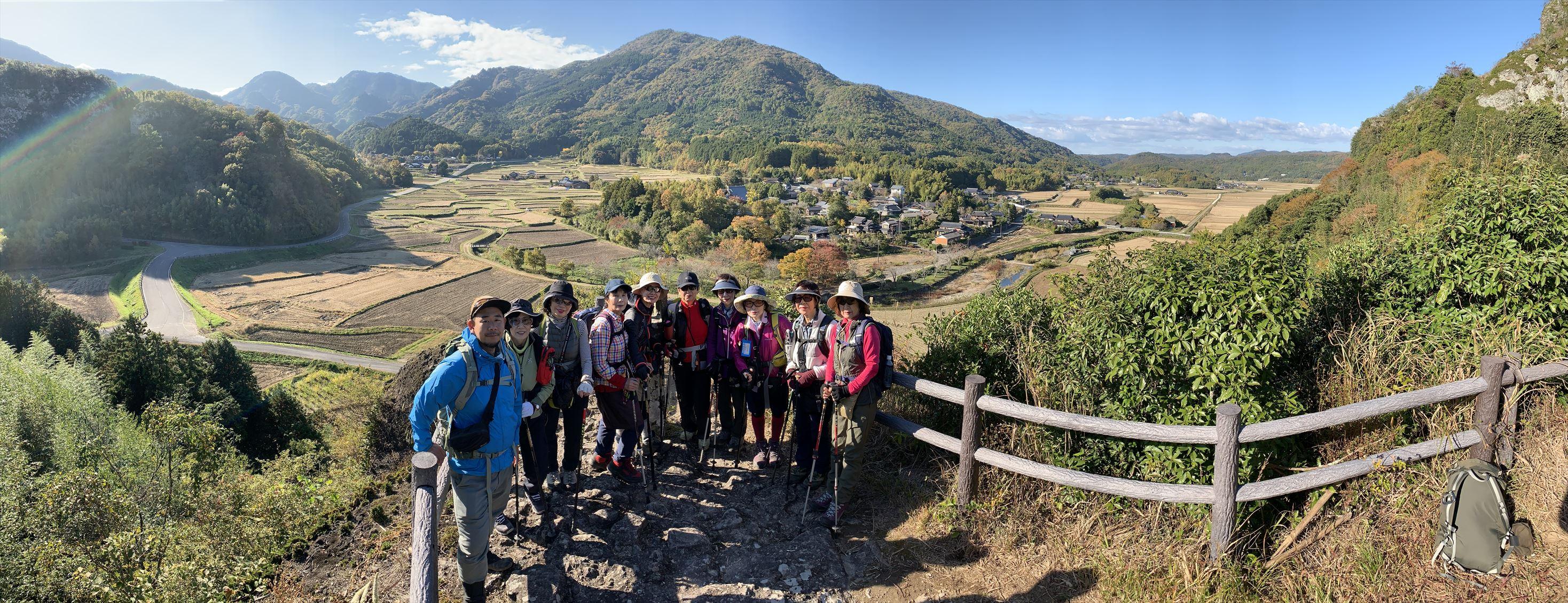 美しい里山の景色が広がる田染の荘