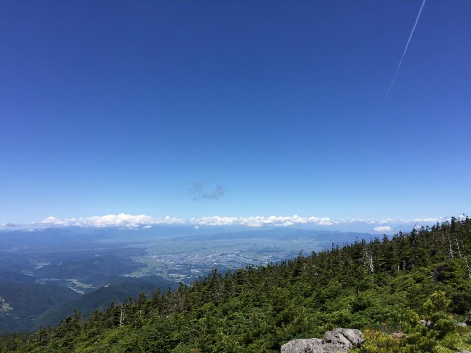 天元台高原からのパノラマ