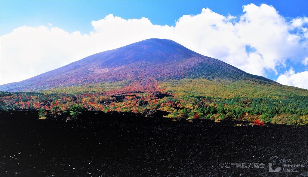 奥羽山脈の最高峰 岩手山