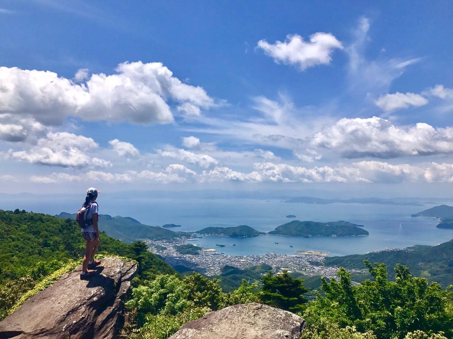 小豆島最高峰星ヶ城山