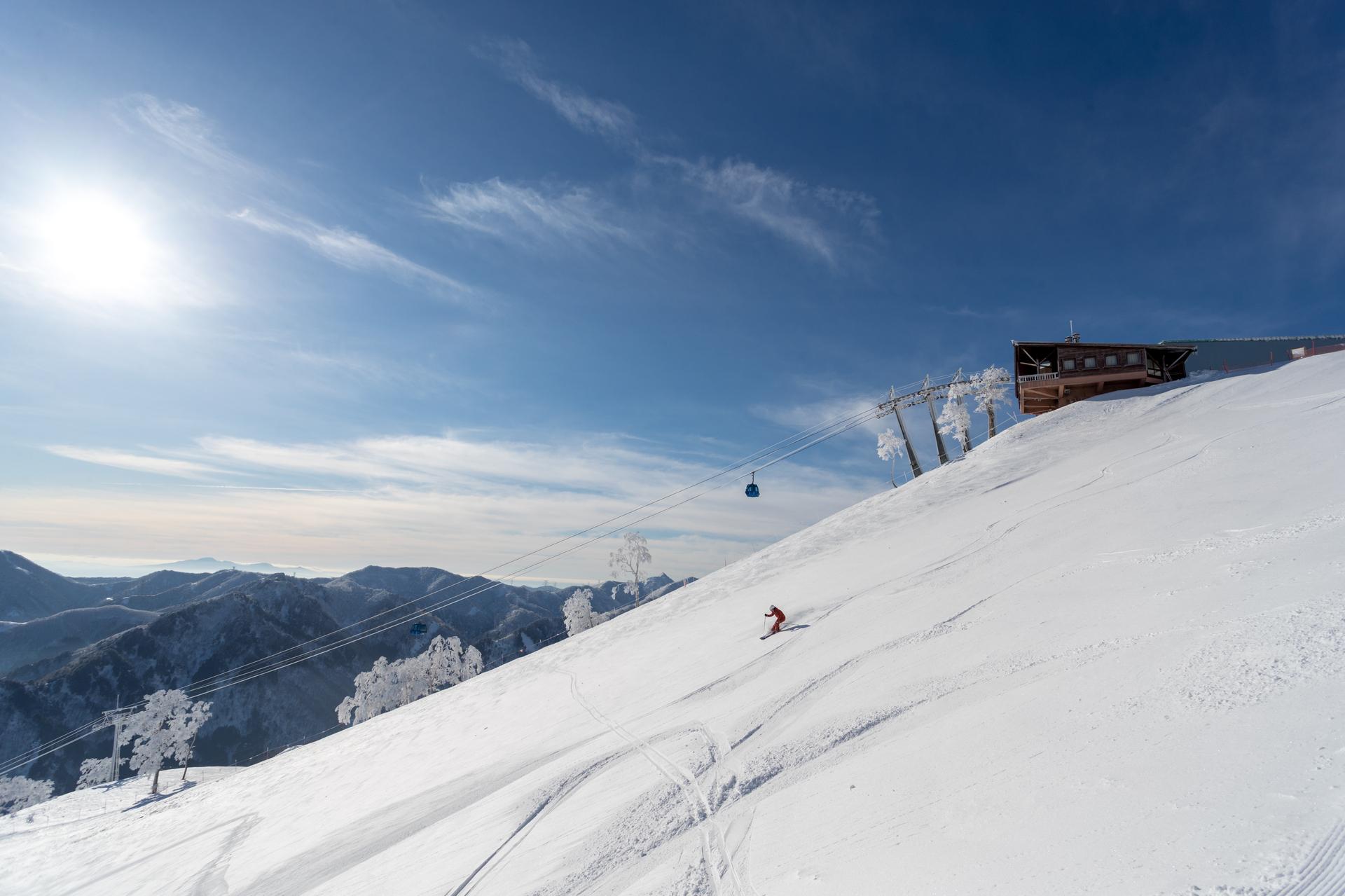 苗場スキー場は日本を代表するスキーリゾート