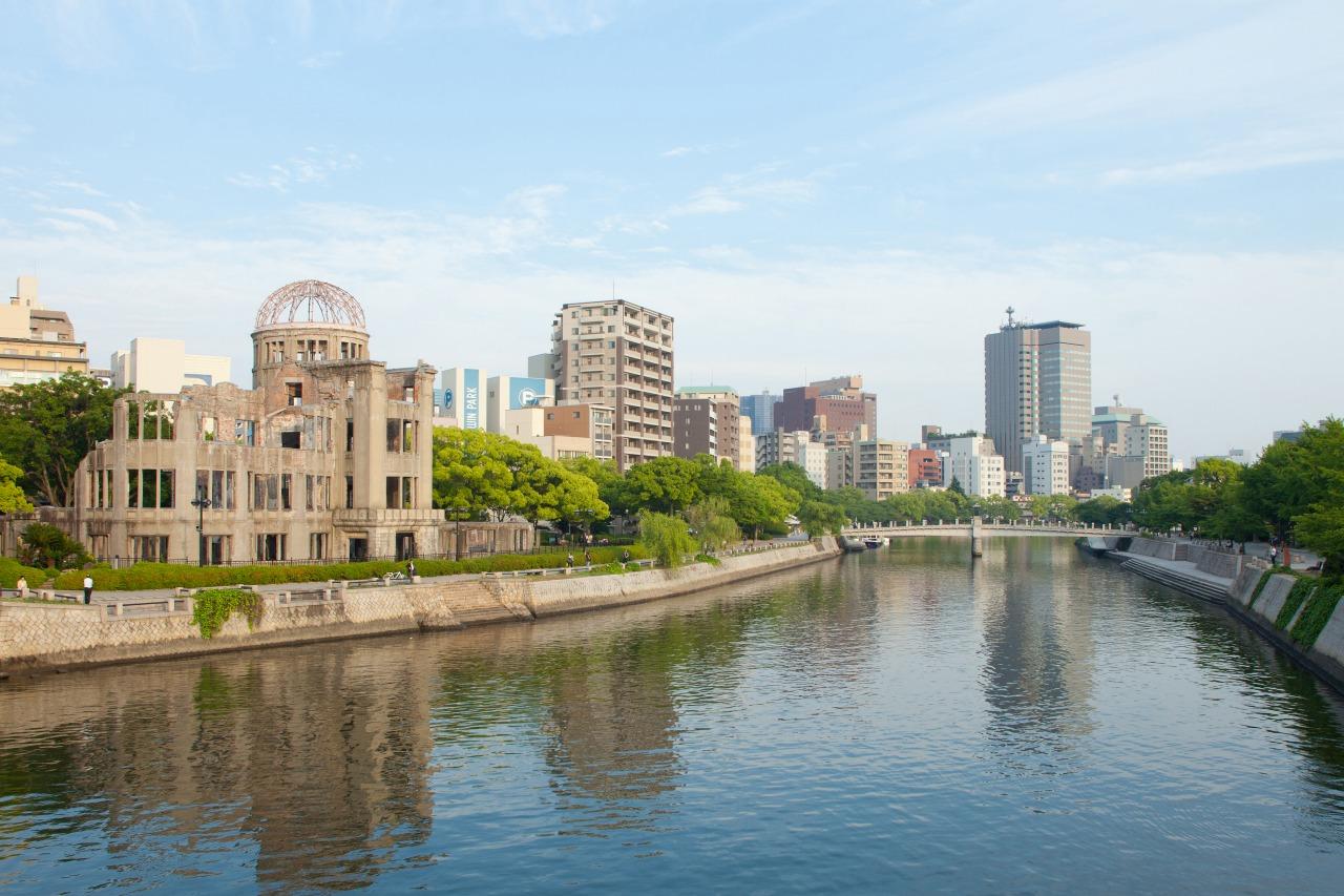 広島市街   写真提供:広島県