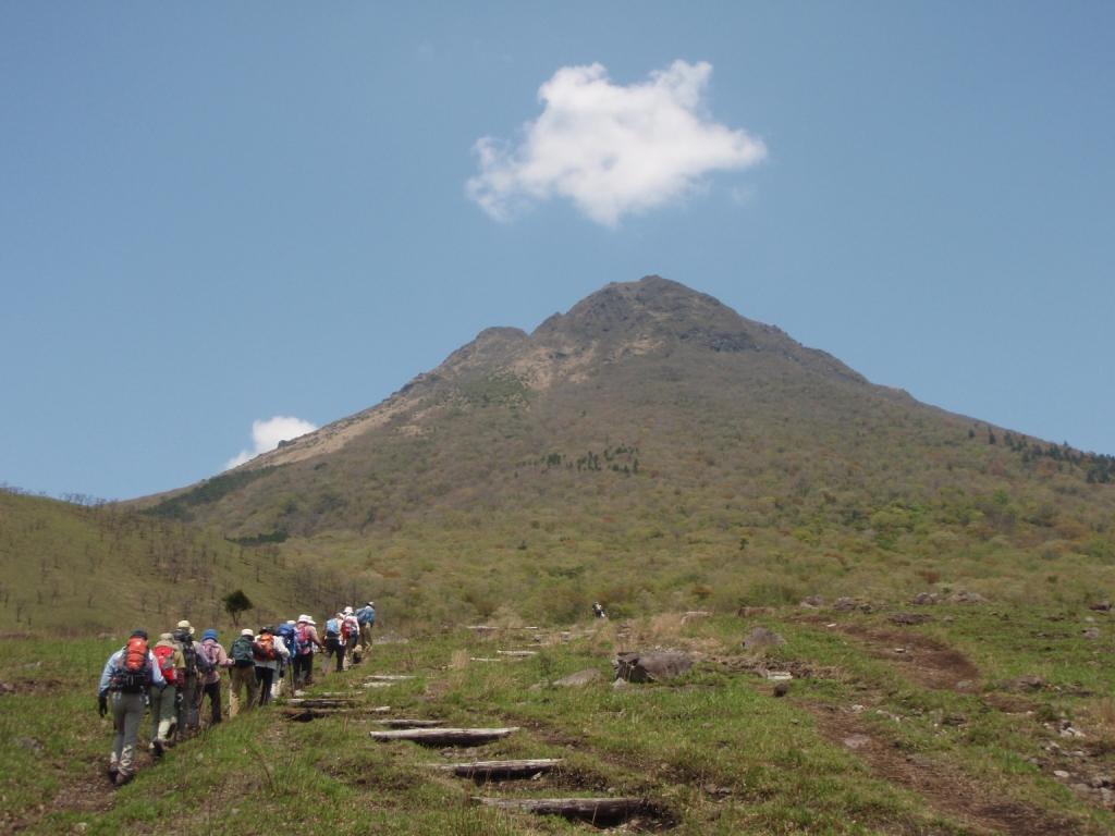 大分の名峰 由布岳に登る