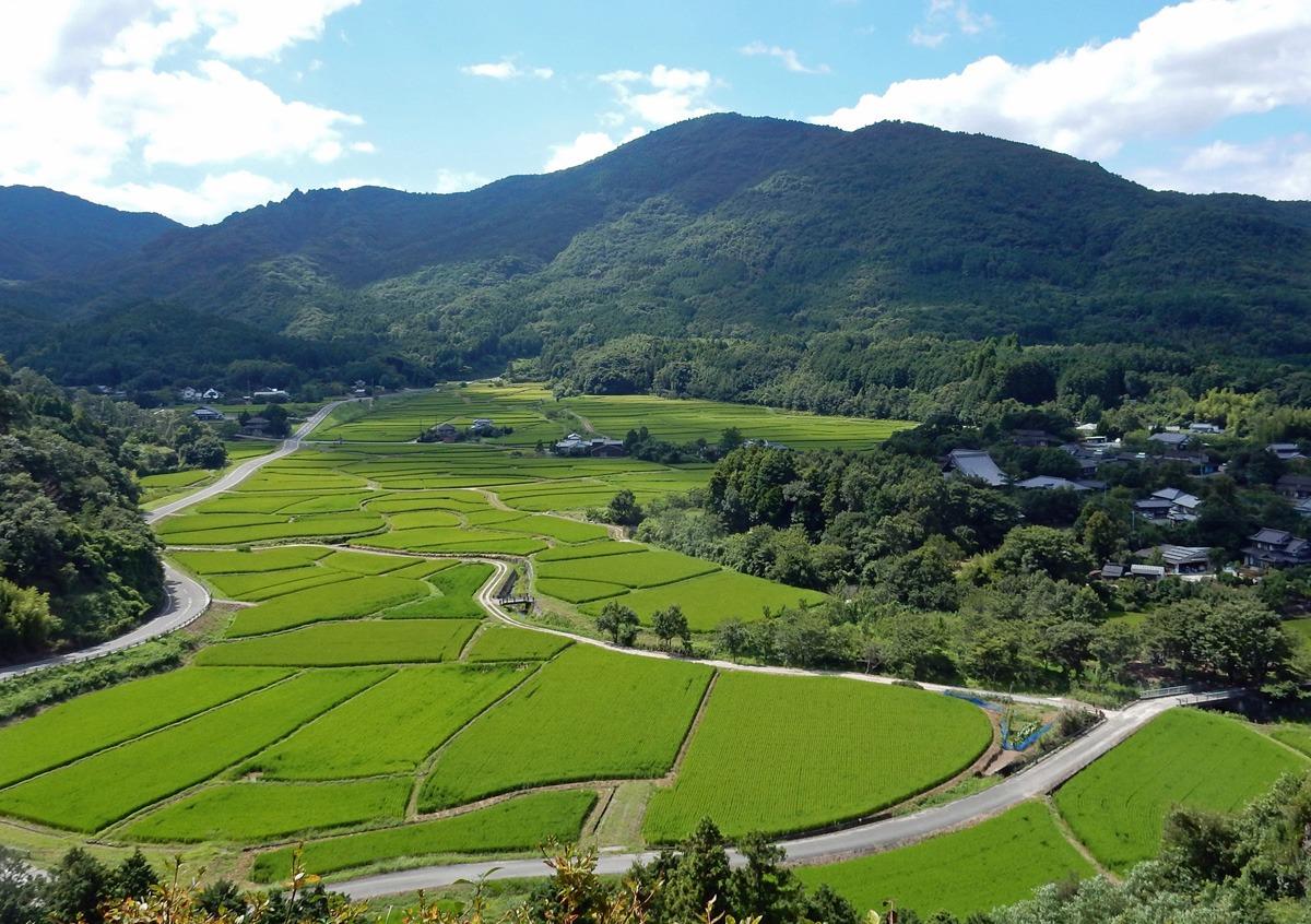 中世の風景を色濃く残す田染荘