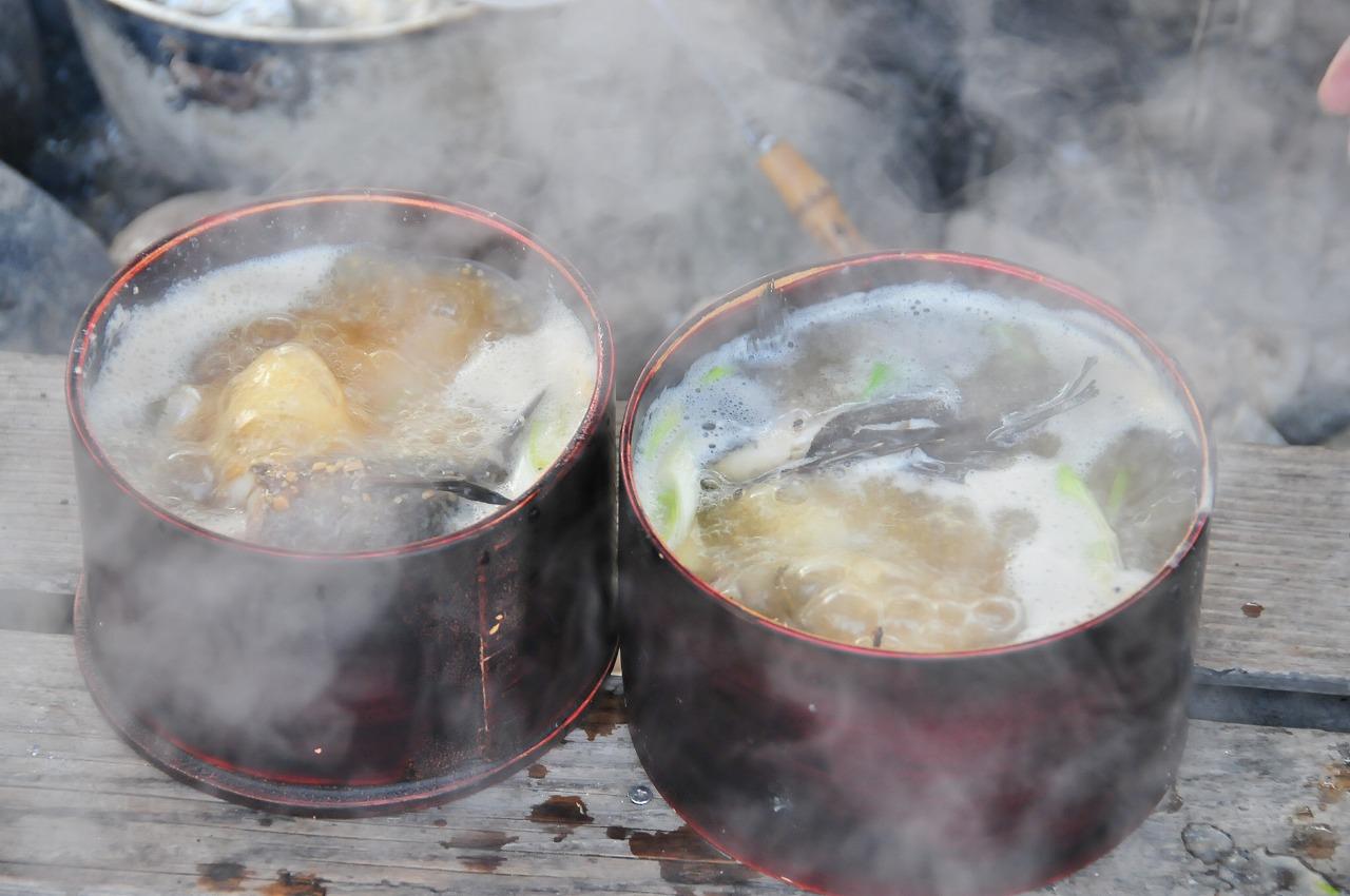 郷土料理「わっぱ煮」