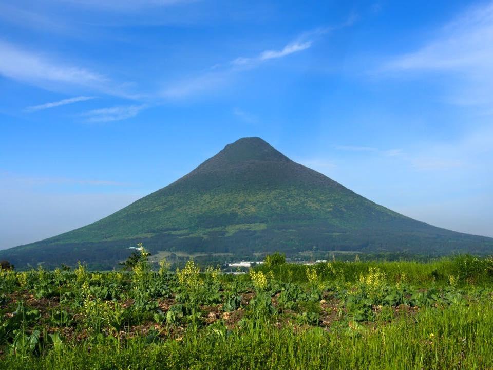 山容が美しい開聞岳