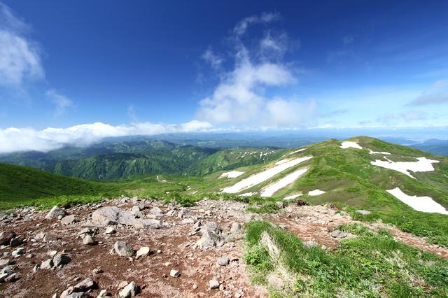 夏の焼石岳