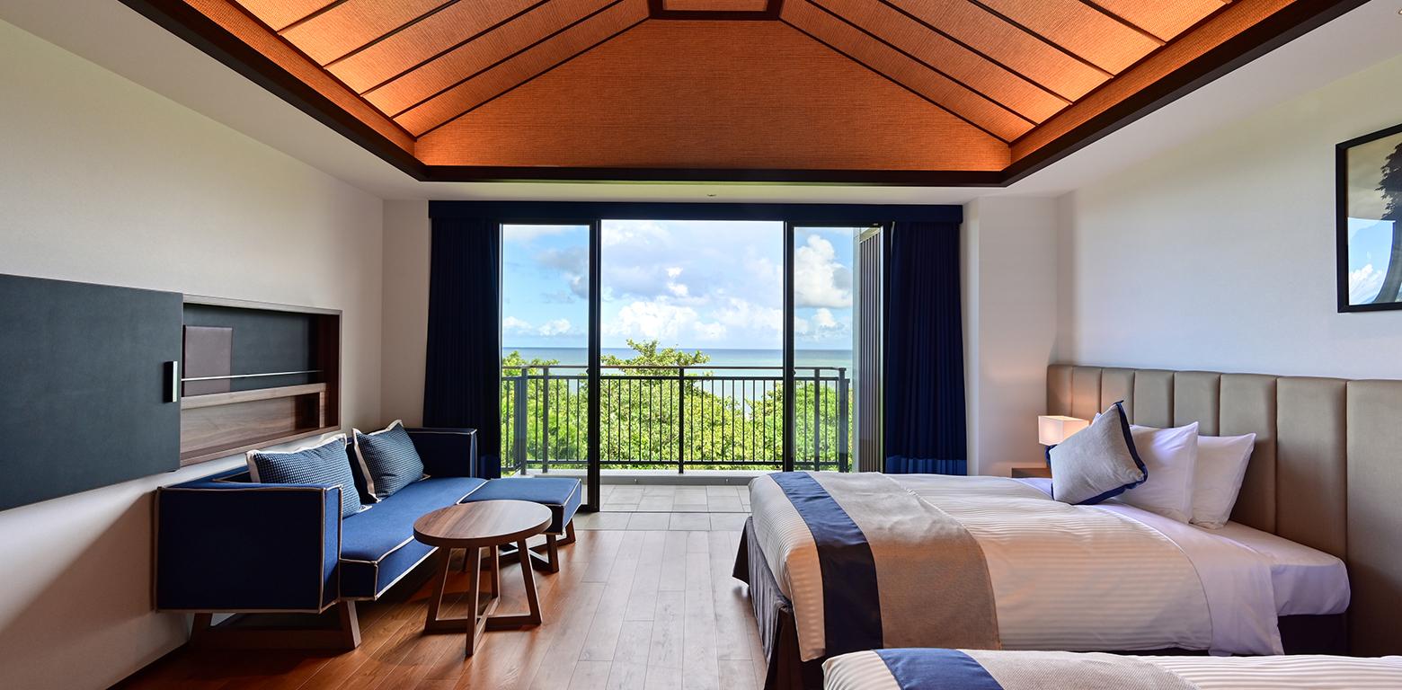 フサキビーチは、オーシャンビュールームに宿泊