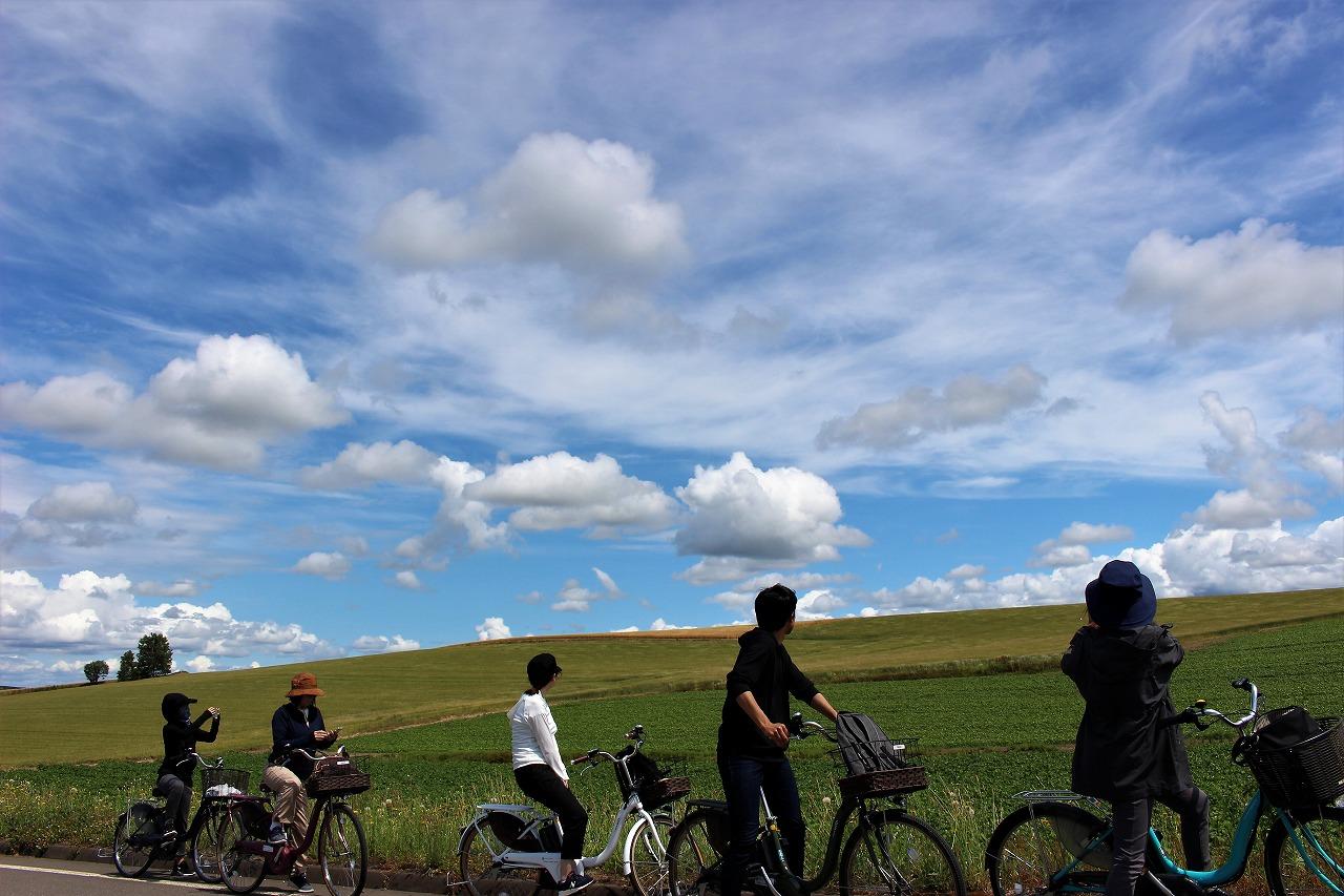 美瑛サイクリング