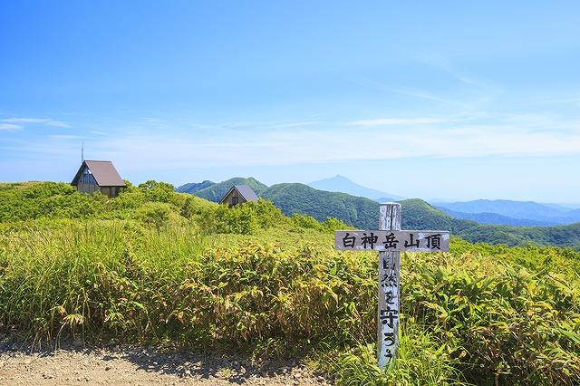 白神岳山頂