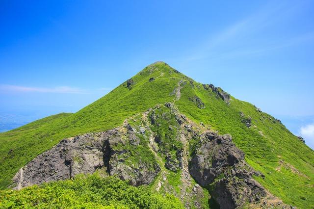 堂々たる夏の岩木山