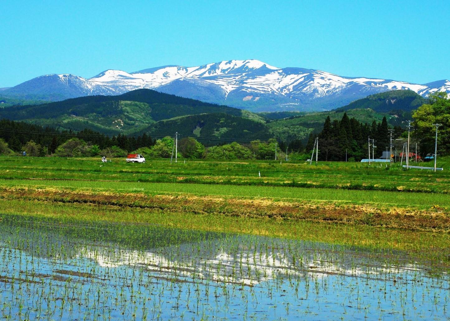初夏の栗駒山(1626m)