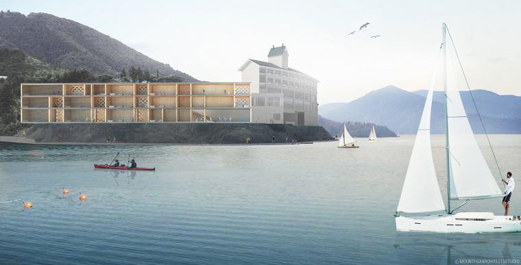 島前では、唯一のラグジュアリーなホテル海士Entoに3連泊します