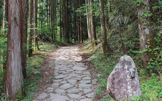 中山道石畳の道