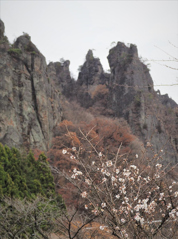 秋の妙義山 (撮影=久志博信氏)