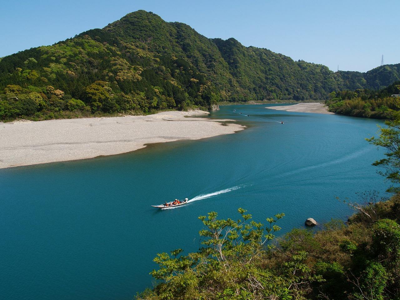 熊野川の川下り