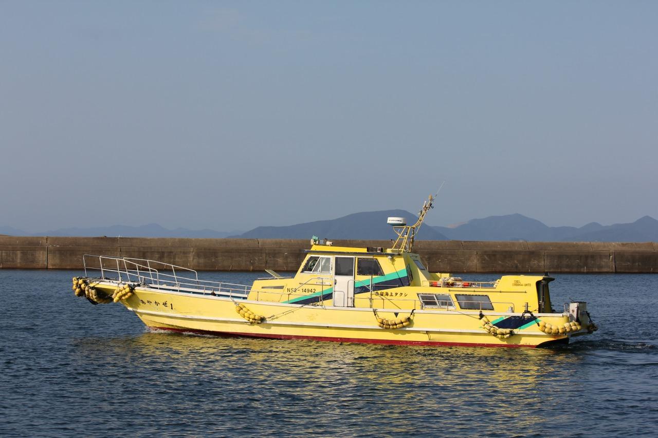 チャーター船で五島列島を巡る(イメージ)