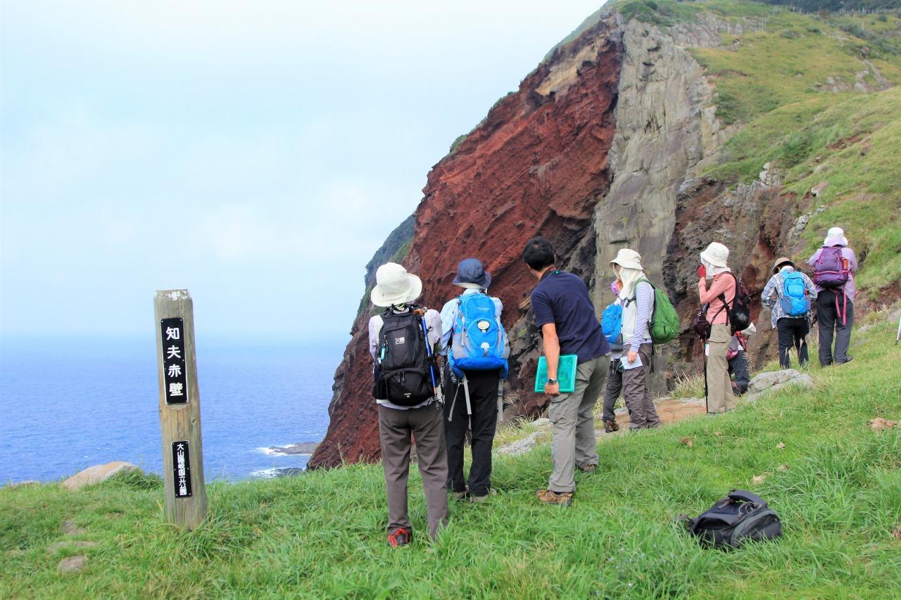 知夫里島の赤壁