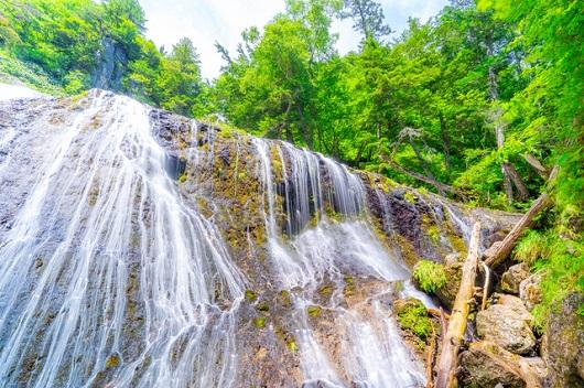 日本の滝百選 三本滝